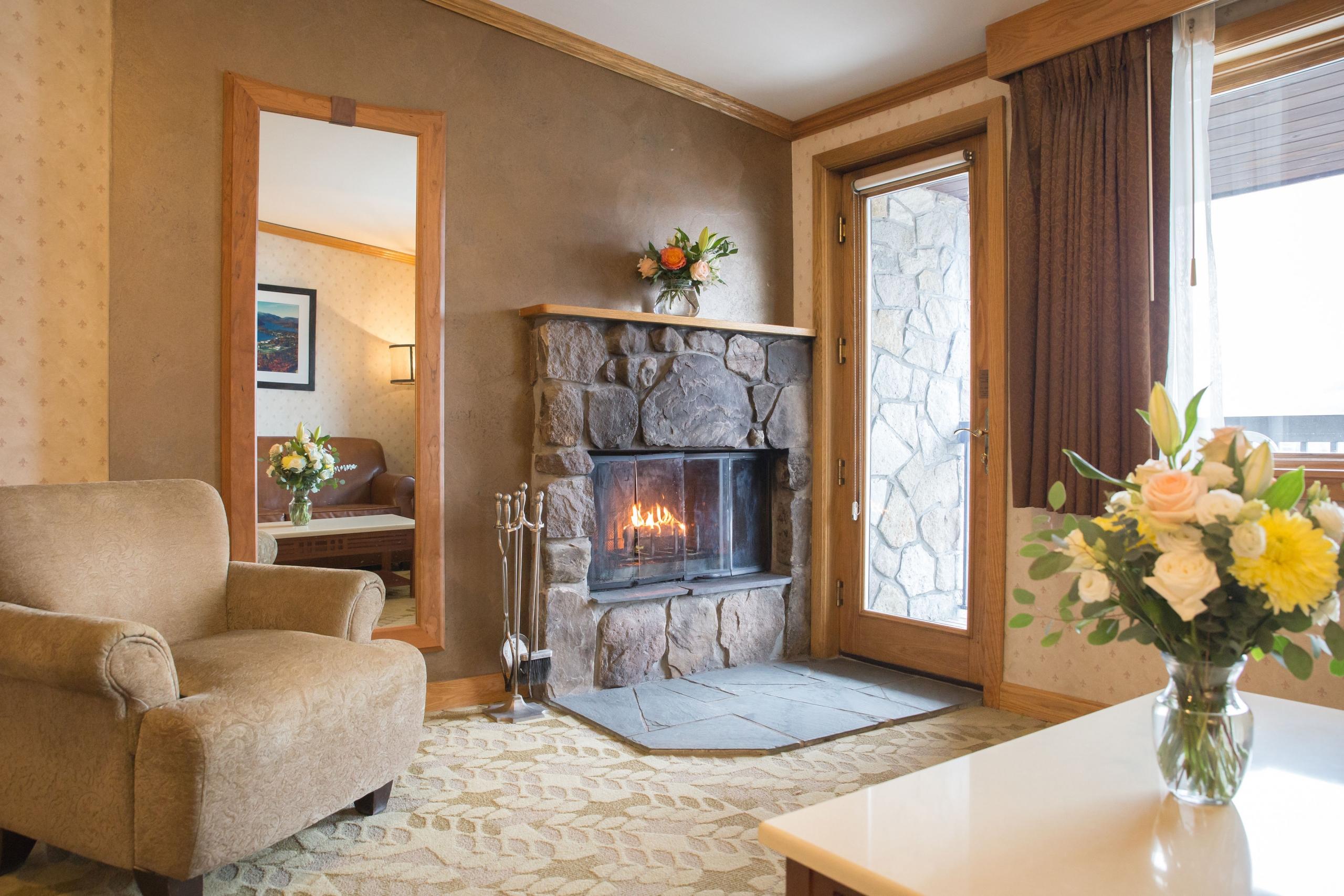 Normandy Fireplace