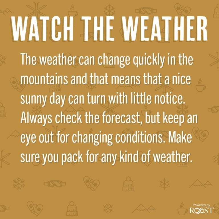 Watch the Weather